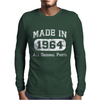Made In 1964 Mens Long Sleeve T-Shirt