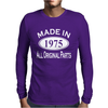 Made in 1975 Mens 40th Birthday Mens Long Sleeve T-Shirt