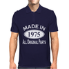 Made in 1975 Mens 40th Birthday Mens Polo