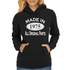 Made in 1975 Mens 40th Birthday Womens Hoodie