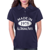 Made in 1975 Mens 40th Birthday Womens Polo
