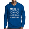 Made In 1986 Mens Hoodie