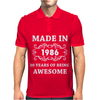 Made In 1986 Mens Polo