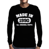 Made In 1990 Mens Long Sleeve T-Shirt