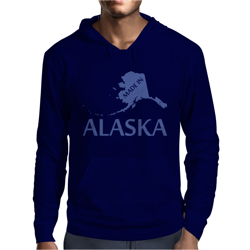 MADE IN ALASKA Mens Hoodie