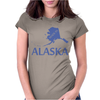 MADE IN ALASKA Womens Fitted T-Shirt
