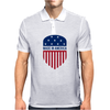 Made in America Shield Mens Polo