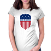 Made in America Shield Womens Fitted T-Shirt