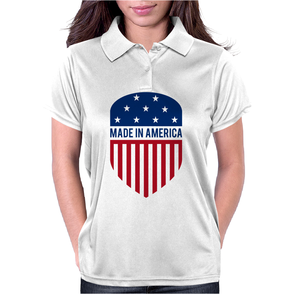 Made in America Shield Womens Polo
