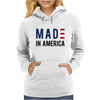 Made in America Stars & Stripes Womens Hoodie