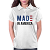 Made in America Stars & Stripes Womens Polo