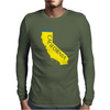 MADE IN CALIFORNIA Mens Long Sleeve T-Shirt