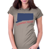 MADE IN CONNECTICUT Womens Fitted T-Shirt