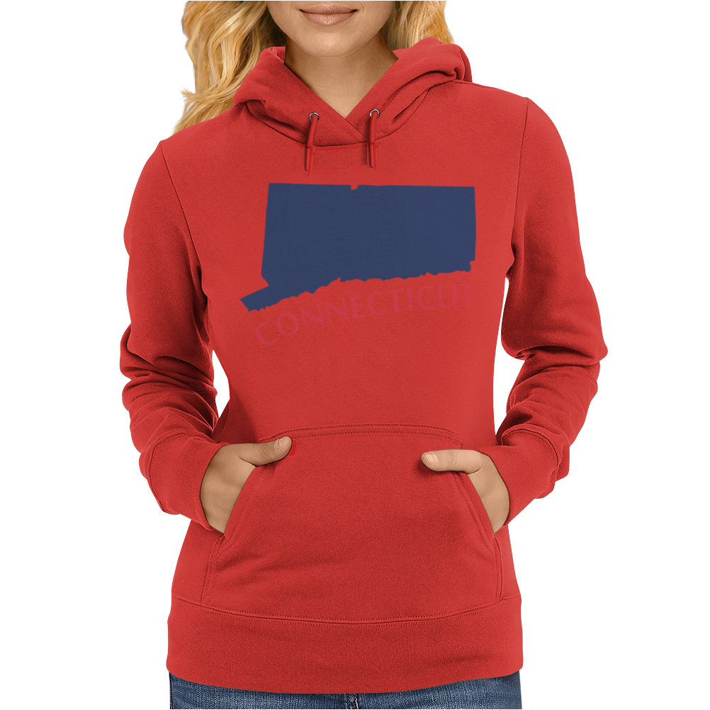MADE IN CONNECTICUT Womens Hoodie