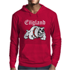 Made In England Bulldog Football Mens Hoodie