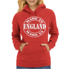 Made In England Womens Hoodie