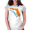 MADE IN FLORIDA Womens Fitted T-Shirt