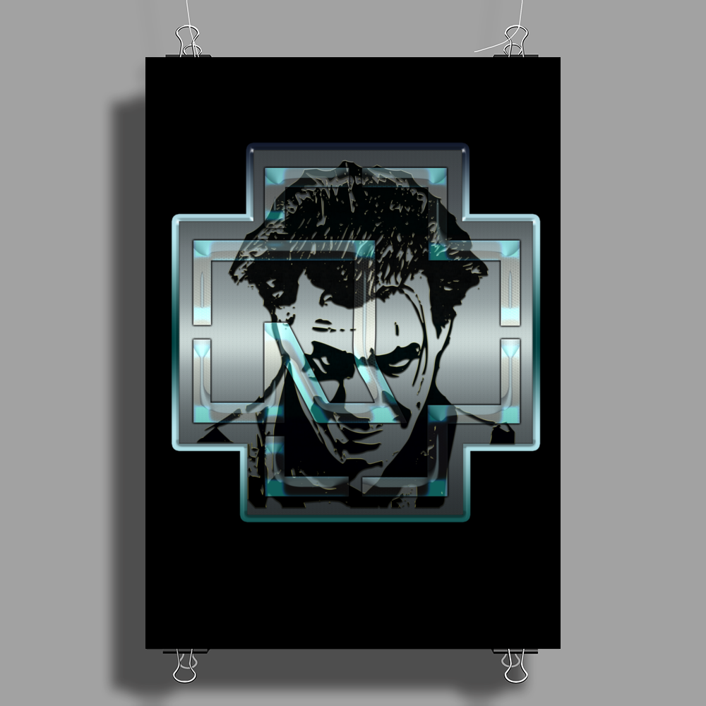 MADE IN GERMANY - till steel Poster Print (Portrait)