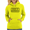 Made In Germany Womens Hoodie