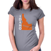 MADE IN IDAHO Womens Fitted T-Shirt