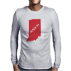 MADE IN INDIANA Mens Long Sleeve T-Shirt
