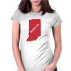 MADE IN INDIANA Womens Fitted T-Shirt