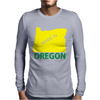 MADE IN OREGON Mens Long Sleeve T-Shirt