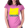 MADE IN OREGON Womens Fitted T-Shirt