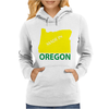 MADE IN OREGON Womens Hoodie