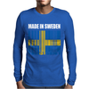 Made In Sweden Mens Long Sleeve T-Shirt