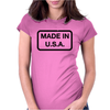 Made In U.S.A. Womens Fitted T-Shirt