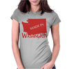 MADE IN WASHINGTON Womens Fitted T-Shirt
