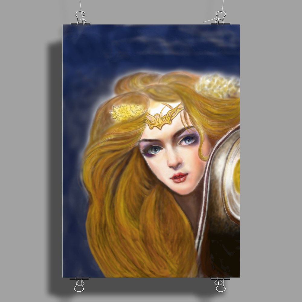 Mage Realm Character poster Poster Print (Portrait)