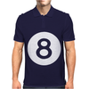 Magic 8 Ball Mens Polo