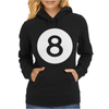 Magic 8 Ball Womens Hoodie