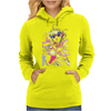 Magical Angel Creamy Mami Watercolor Womens Hoodie