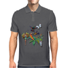 Magical Fairy Garden Mens Polo