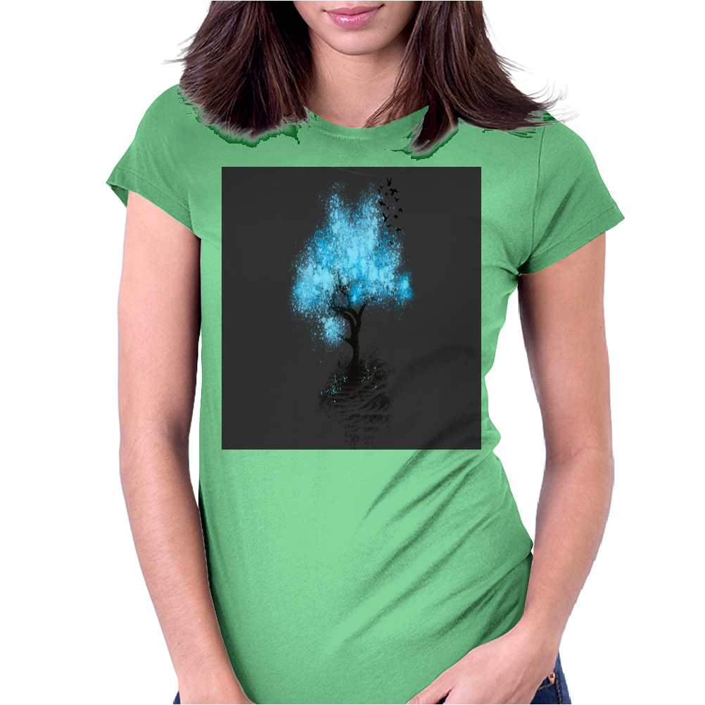 Magical Tree Womens Fitted T-Shirt