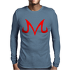 Majin Buu symbol Mens Long Sleeve T-Shirt