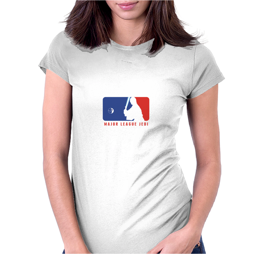 Major League Jedi Logo Womens Fitted T-Shirt