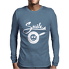 Make A Smile Fried Mens Long Sleeve T-Shirt