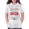 Make EDM Not War Womens Polo