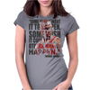 Make It Happen Womens Fitted T-Shirt