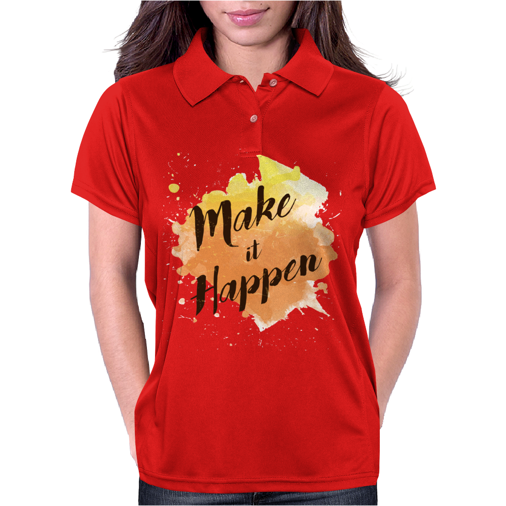 Make it happen Womens Polo