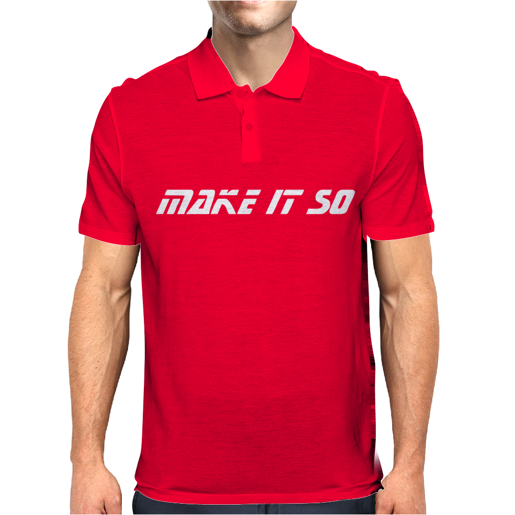 Make it so Mens Polo
