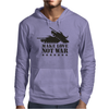 Make love not war Mens Hoodie