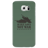 Make love not war Phone Case
