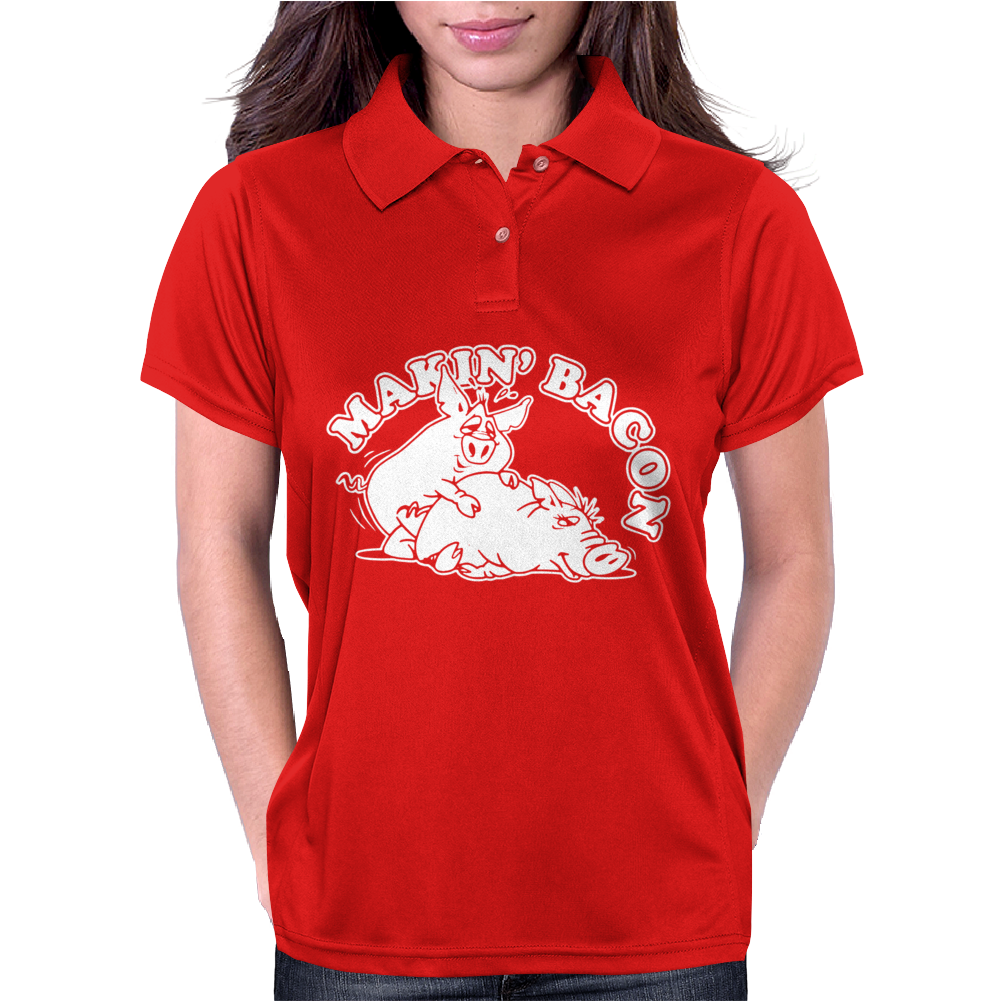 Makin Bacon Womens Polo