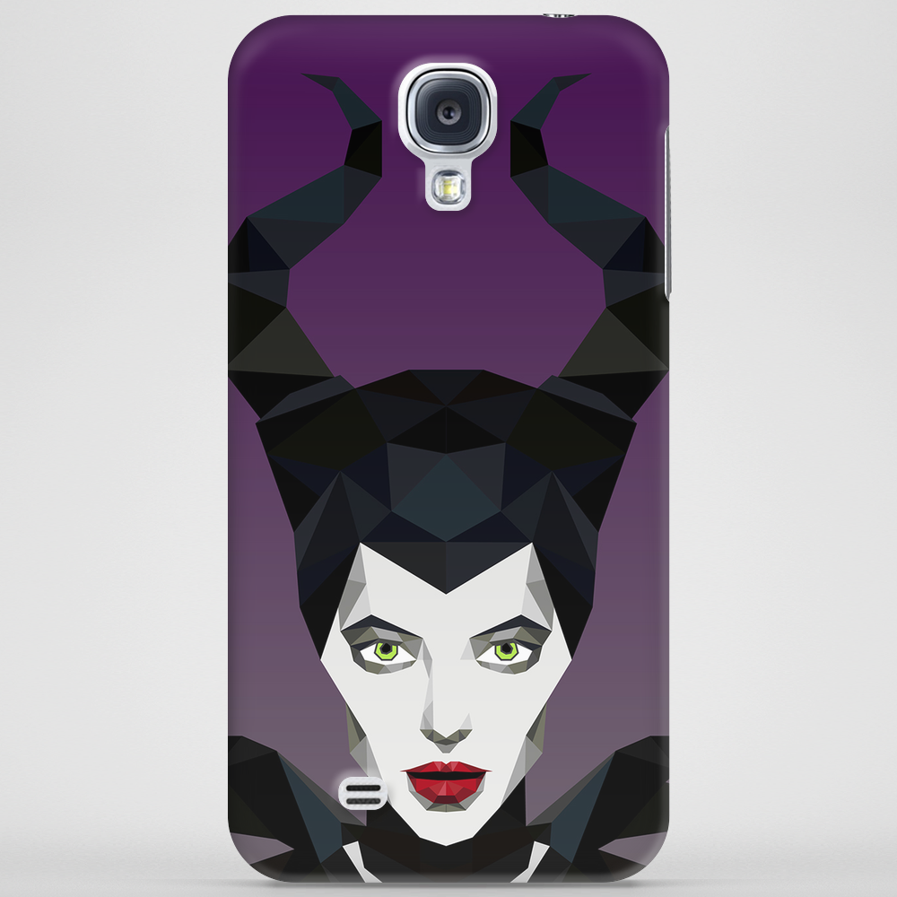 Maleficent Vector Phone Case