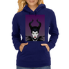 Maleficent Vector Womens Hoodie